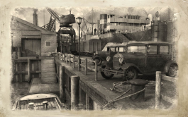 Newshawk Dock Scene